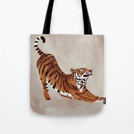 Tiger Stretch Tote Bag