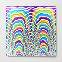 Playful Colors Metal Print