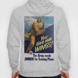 You Give Him Wings Hoody