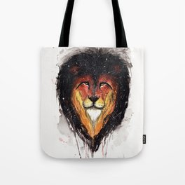 Fire Lion. Tote Bag
