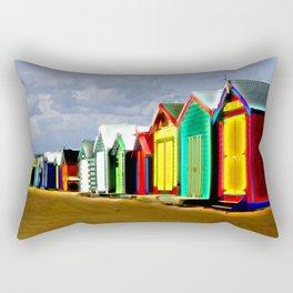 Brighton Beach Boxes Rectangular Pillow