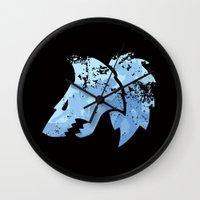 warhammer Wall Clocks featuring Wolves on the horizon by HenkusFilijokus