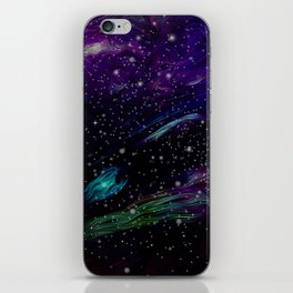 Inhabited space iPhone Skin