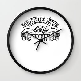 Made in Hamm Wall Clock