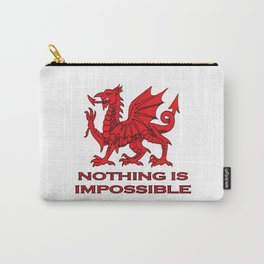 Nothing Is Impossible Red Dragon Carry-All Pouch