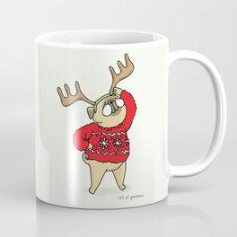Mochi with horns Coffee Mug