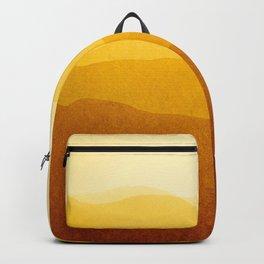 gradient landscape - sunshine edit Backpack