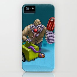 That weird guy by the corner... iPhone Case