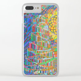 Tower of Babel - 2013 Clear iPhone Case