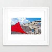 cloud Framed Art Prints featuring cloud by Sébastien BOUVIER