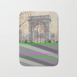 Lewis, Martin (1881-1962) - New York 1911 - Washington Arch on a wet day Bath Mat