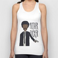 pulp Tank Tops featuring Pulp Fiction by Molnár Roland