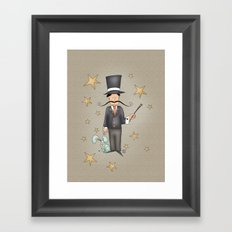 Magician Framed Art Print