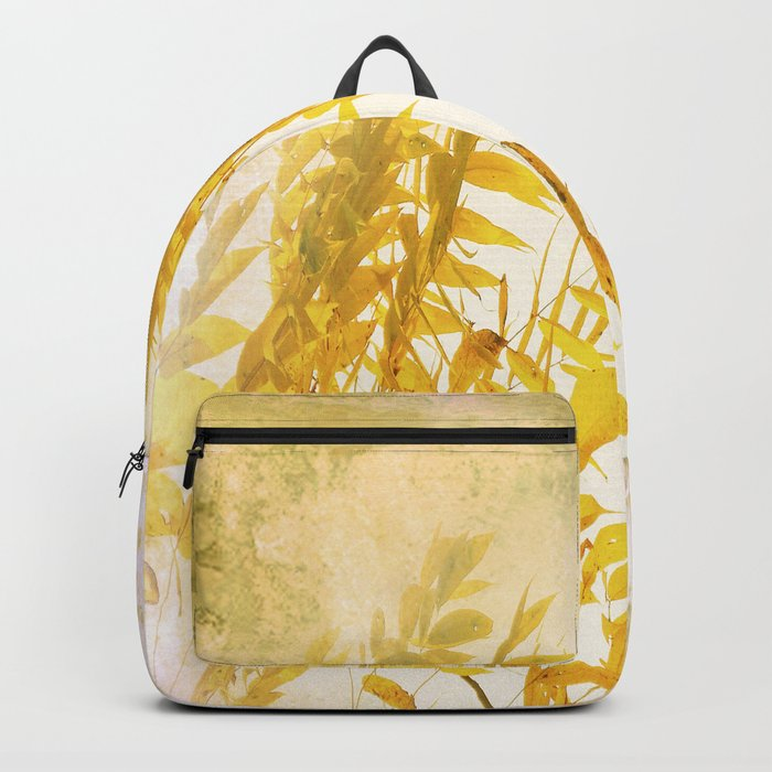 Yellow Branch Backpack