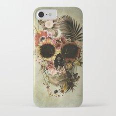 Garden Skull Light Slim Case iPhone 7