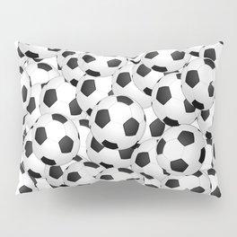 Soccer Ballls Pillow Sham