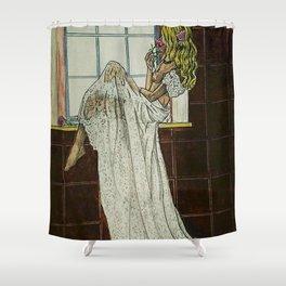 LA ESPERA 3 Shower Curtain