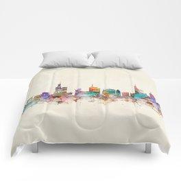 Frankfurt city Germany Comforters