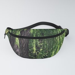 Old Weeping Willow Tree Forest Fanny Pack