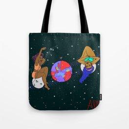 Planet Jams Tote Bag