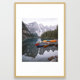 Moraine Lake | Banff National Park, Alberta, Canada | John Hill Photography Framed Art Print