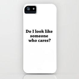 How I Look Like? iPhone Case