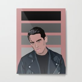 G-Eazy Panel Metal Print
