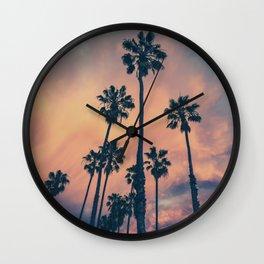 Retro Cali Love Wall Clock