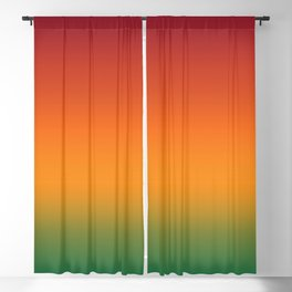 Colorful Trendy Gradient Pattern Blackout Curtain