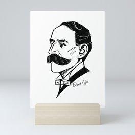 Edward Elgar Mini Art Print