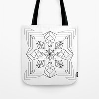 gem Tote Bags featuring Gem by enkorporated