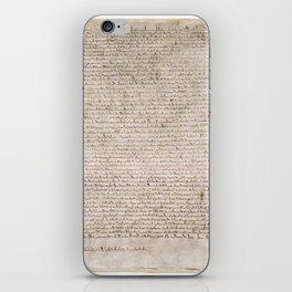 The Magna Carta 0f 1215 iPhone Skin