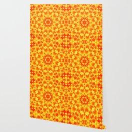 Fire Kaleidoscope 3 Wallpaper