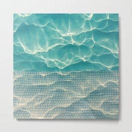 Crystal • Clear • Liquid Metal Print