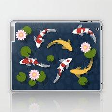 Japanese Koi Fish Pond Laptop & iPad Skin