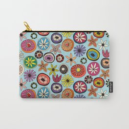summer flowers multi sky Carry-All Pouch