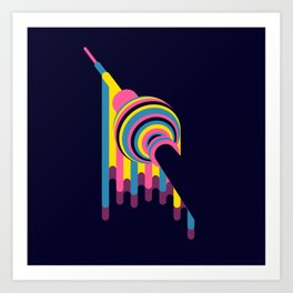 Lollipop Tower Art Print