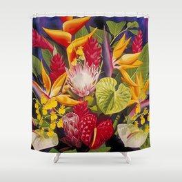 Tropical Arrangement #2 Shower Curtain