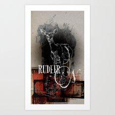 ruDEER Art Print
