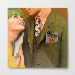 Modern Love 2 Metal Print