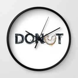 Favourite Things - Donut Wall Clock