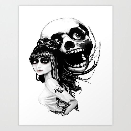 Soul Mates Art Print
