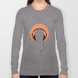 Buddha : Listen to Om! Long Sleeve T-shirt