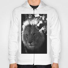 Awesome B&W Lion Hoody