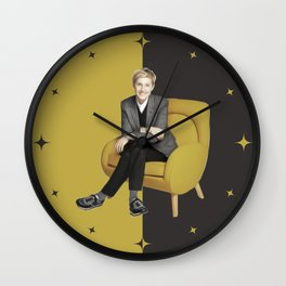 Elen - Celebrity - Oil Paint Art Wall Clock