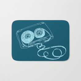 Oldschool Blues Mixtape Bath Mat