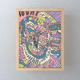 Tear My Heart Out Framed Mini Art Print