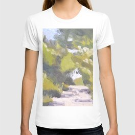 Italian Country Road Painting T-shirt