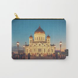 Cathedral of Christ the Savior in Moscow, Russia Carry-All Pouch