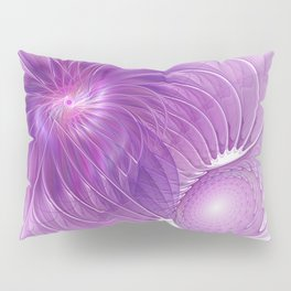 Protection, Abstract Fractal Art Pillow Sham